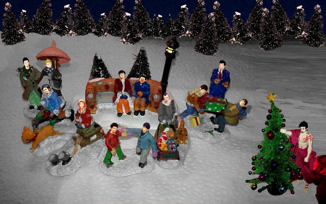 Mentaiko Winter Holidays by SebastianMerman