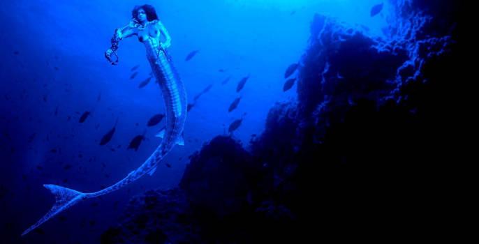 Mami Wata African Mermaid Water Goddess by SebastianMerman