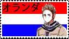 Netherlands Stamp by Colhan3000