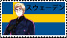 Sweden Stamp by Colhan3000