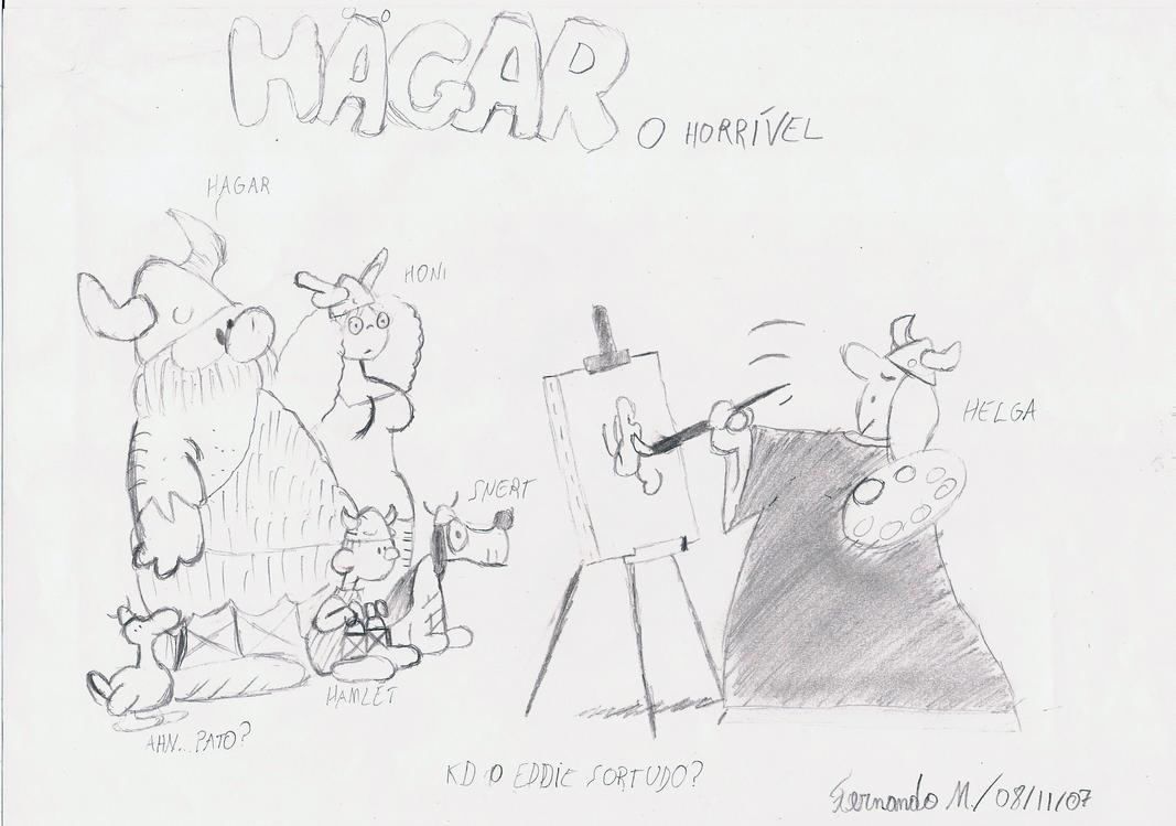 Familia - Hagar, o horrivel by Fernatriforce