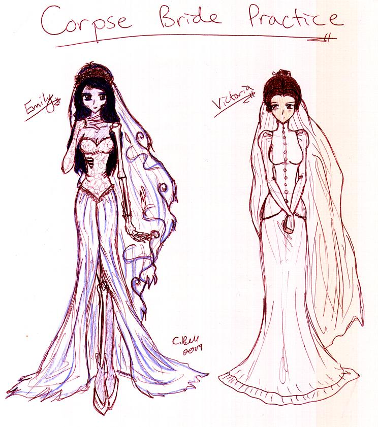 Corpse Bride Practice By KeeperOfCoffins On DeviantArt