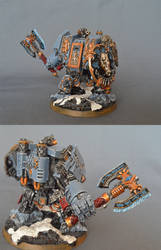 Space Wolves Magnetized Venerable Dreadnought by BeatleJulius