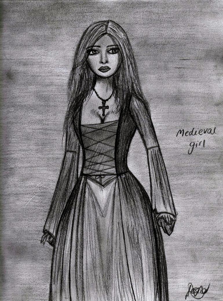 Medieval Girl by jesskw on DeviantArt