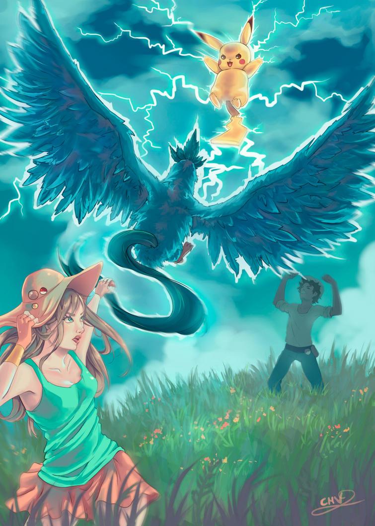 Blue Battle by Lunnarisaku