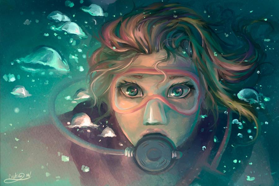 Night Dive by Lunnarisaku