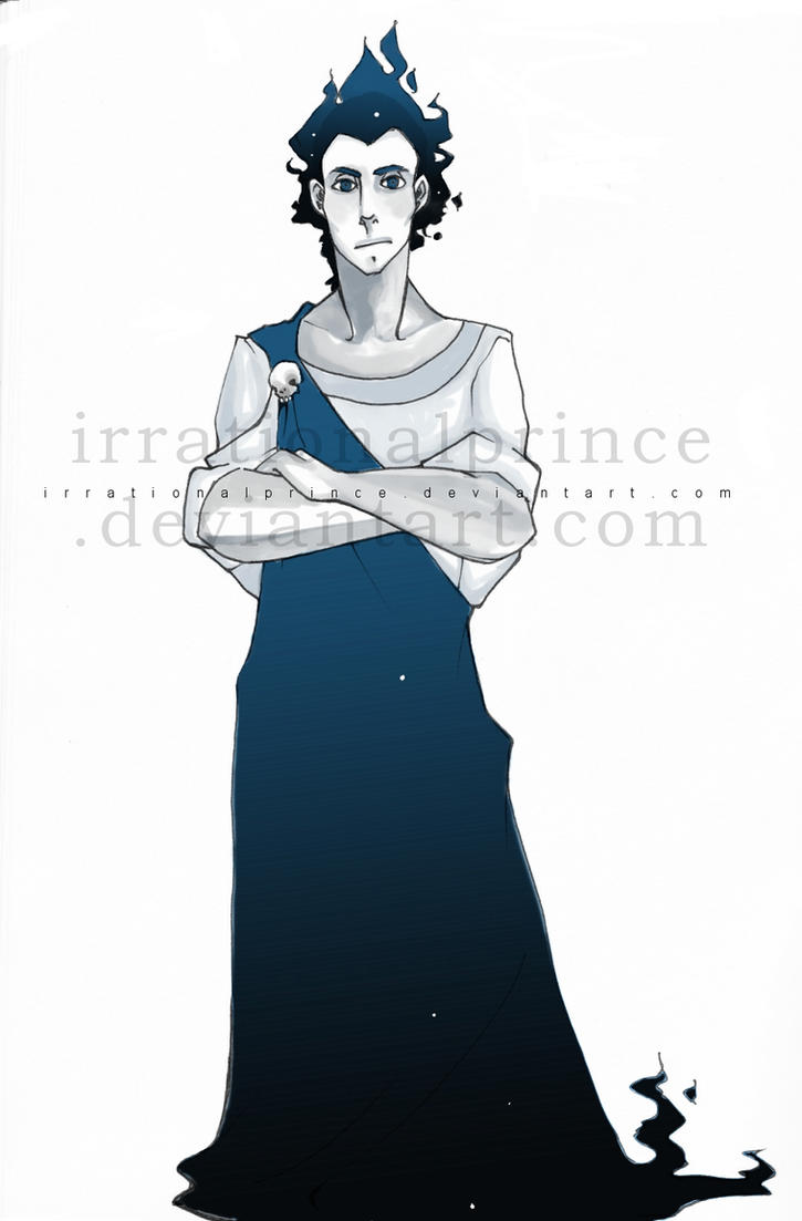 PJATO: HADES by irrationalprince