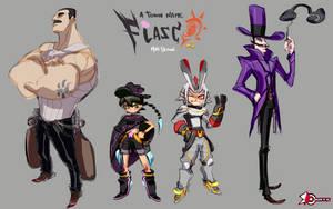 Fiasco Cast Final Colors by shinobiwankenobe