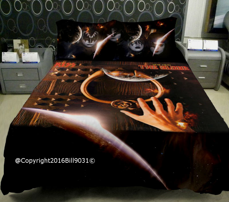 Kiss The Elder Bed Sheets By Bill9031 ...