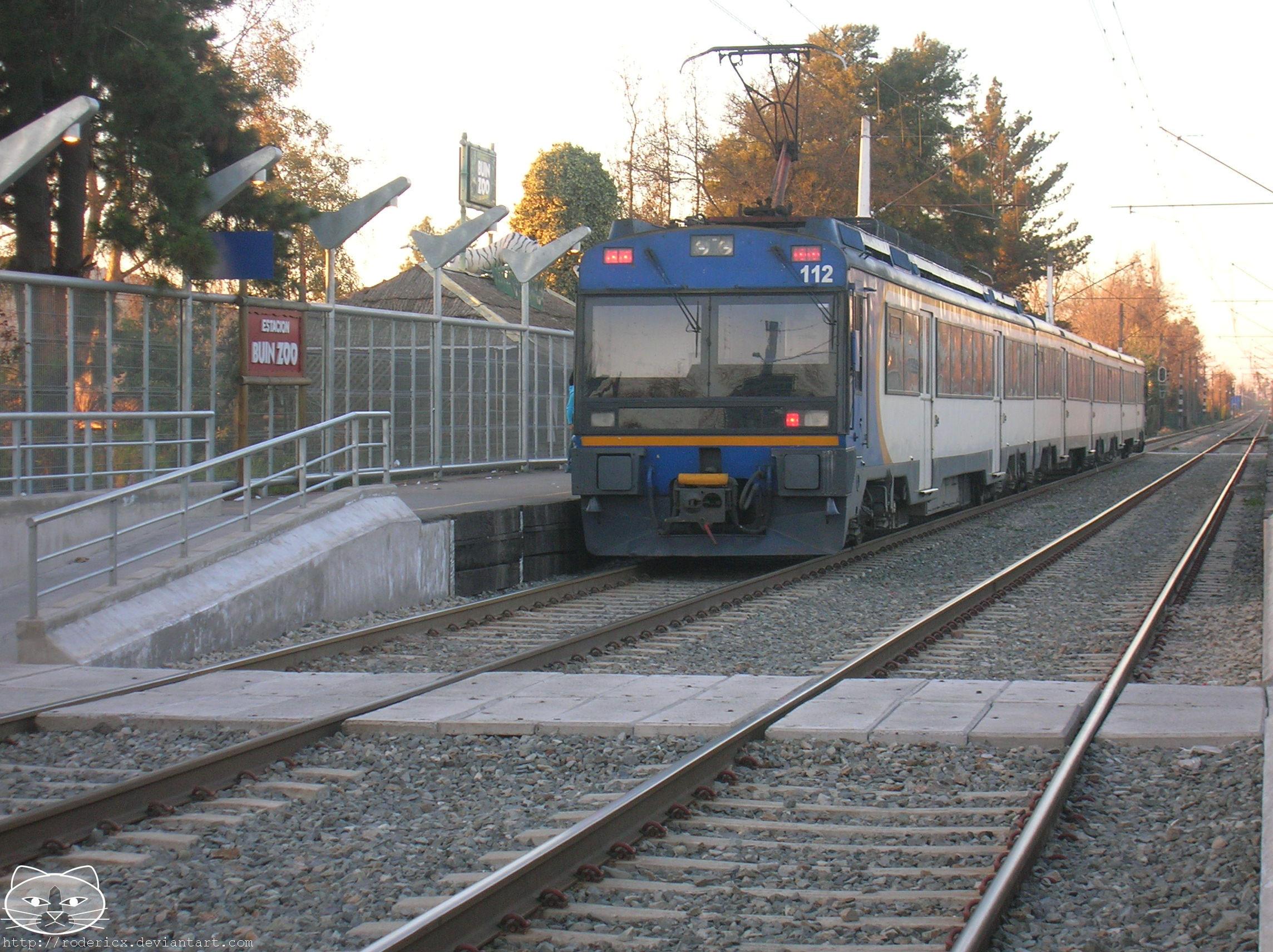 estacion de trenes de buin 5 by rodericx