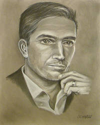 Jim Caviezel 'Conte' from Person of Interest by Schnellart