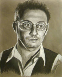 Michael Emerson Conte drawing, Person of Interest by Schnellart
