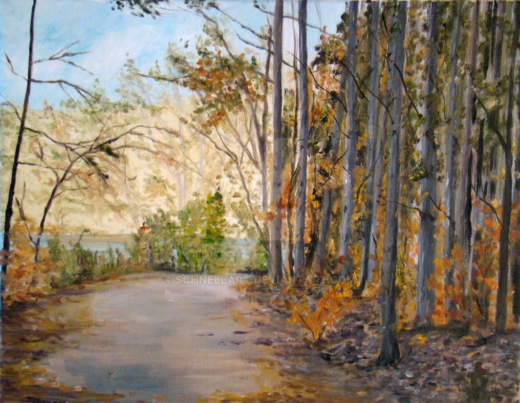 Trillium Path by Schnellart