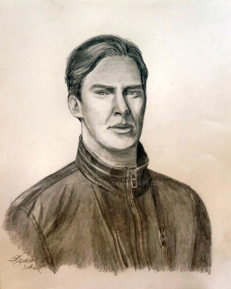 Benedict Cumberbatch by Schnellart