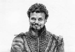 Porthos from BBC's The Musketeers