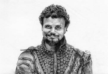 Porthos from BBC's The Musketeers by LPSoulX