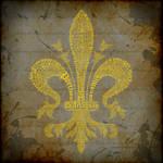 Fleur de Lis Typography - The Musketeers