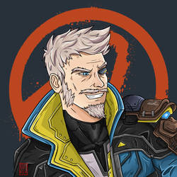 Zane Flynt - The Operative (Borderlands 3 Fan Art)