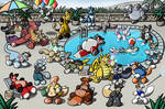 Giant Toy Party