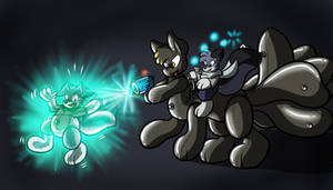 Pooltoy Ray Attack by Virmir