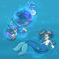 Mermaid Collie by Virmir