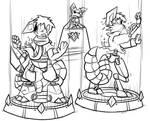 Transformative Triple Threat Gauntlet, Round 6