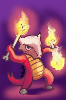 Fire Marowak