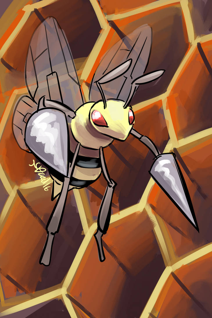Beedrill by P5ych