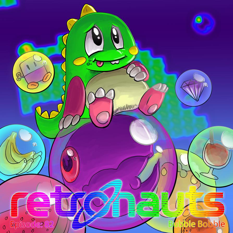Retronauts 23 Bubble Bobble by P5ych