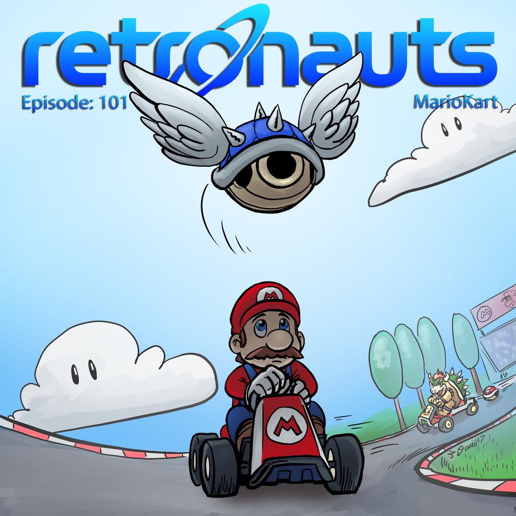 Retronauts 28 Mario Kart by P5ych