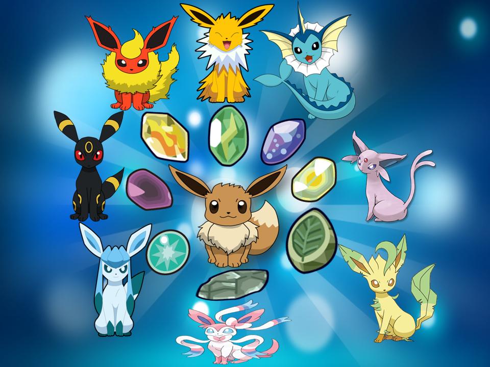 Eevee Piedras Evolutivas Pokemon 538115136