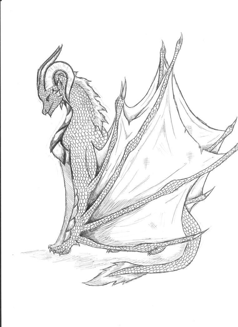 Wyvern by Legendwolf77
