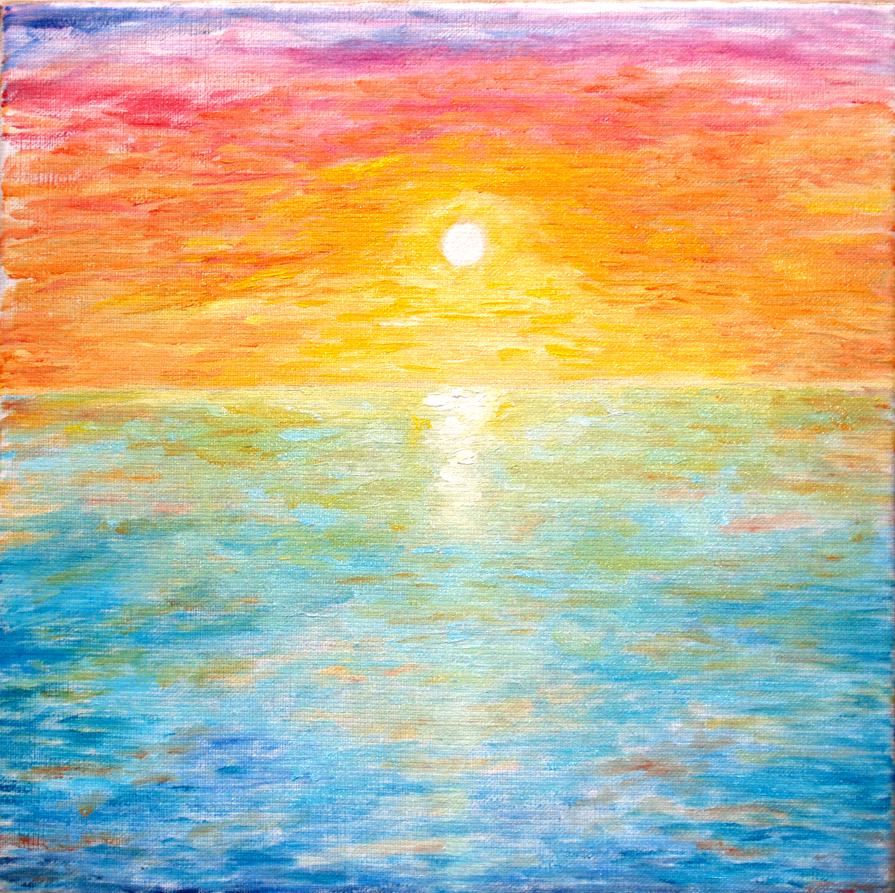 Sunset by oiltocanvas