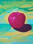 Apple by oiltocanvas