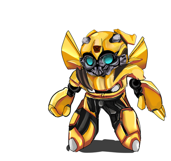 Chibi Bumble Bee by InsainlyColorful