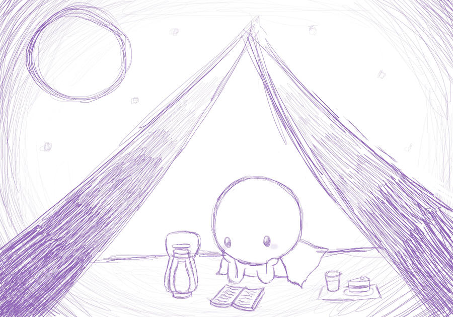 Camp Night: Inspired by Jaiden Animations by Deer-Animations