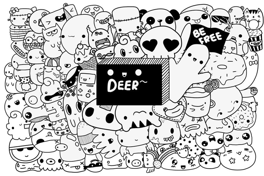 Deer Doodle! by Deer-Animations