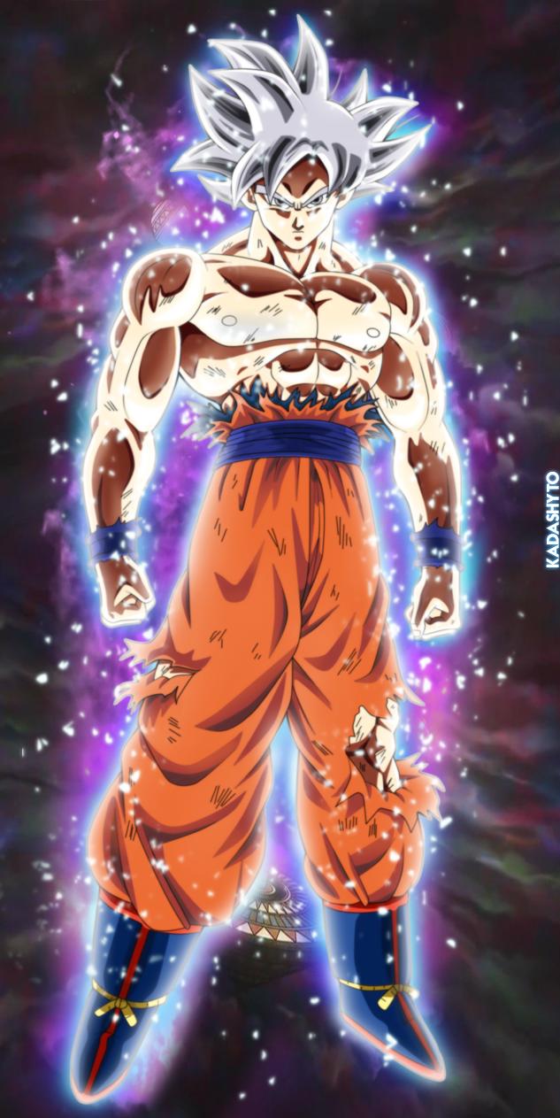 Mastered Ultra Instinct Goku By Kadashyto On Deviantart