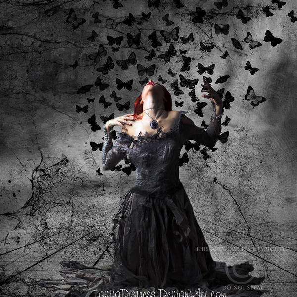 Butterfly Disaster by KarahRobinson-Art
