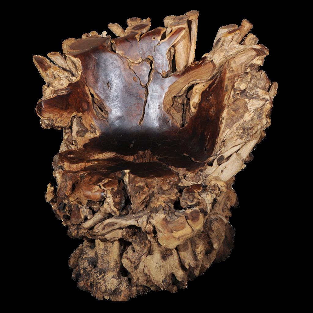 Tree Stump Chair PNG By KarahRobinson Art