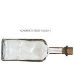 Clear Rum bottle PNG
