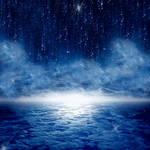 Premade Background -- Starry Night Sky