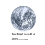 Winter Moon Stock Png