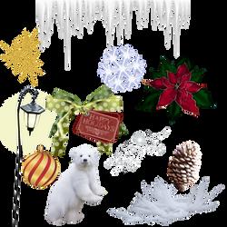 Christmas Stock Pack 2 Png by KarahRobinson-Art