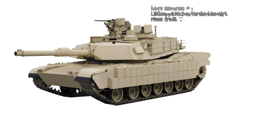 Military Tank PNG stock