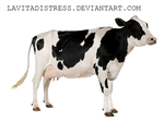 Betsy the Cow- Png stock