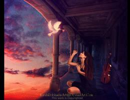 Sky Filled Melodies by KarahRobinson-Art