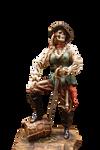 Pirate Skeleton PNG STOCK
