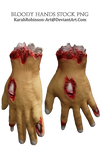 Bloody Hands PNG
