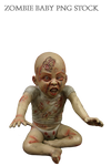 Zombie Baby PNG Stock